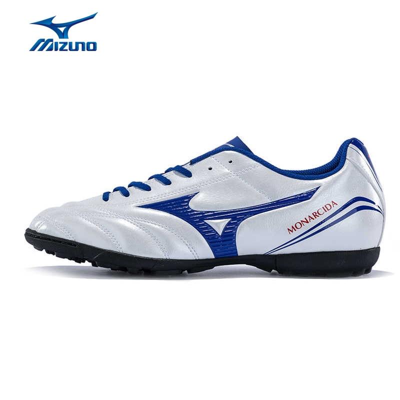 цена на MIZUNO 2016 Men's Sports Beathable Cushioning Soccer Shoes MONARCIDA FS AS Light Sport Shoes Sneakers P1GD162327 YXZ013