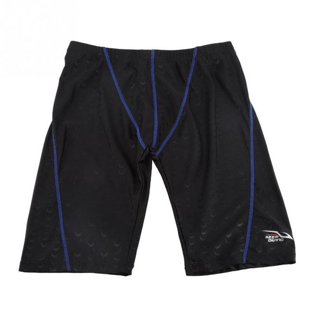 KEEP DIVING Professional Men Competitive Swim Trunks Shorts Quick Drying Swimwear Swimsuit Boys Beach Swim Shorts Size L-4XL