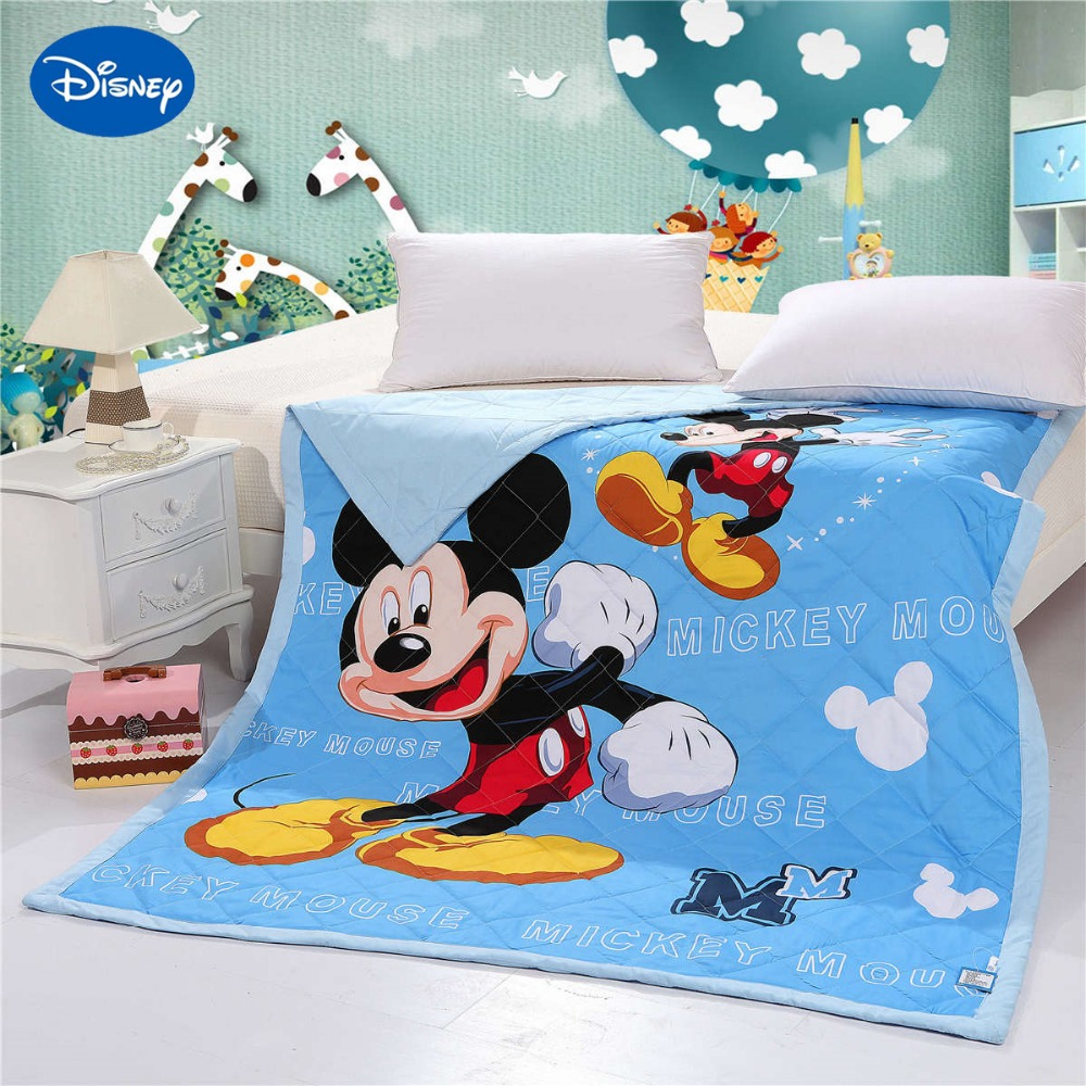 Mickey Mouse Quilts Bedding Twin Single Full Queen Size