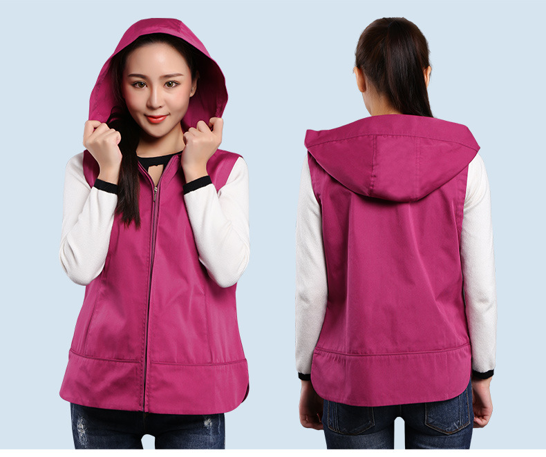 Anti-radiation Vest With Cap, Outdoor Electromagnetic Wave  Protective Vest, Laptop Protective Clothing,Stainless Steel Fiber.