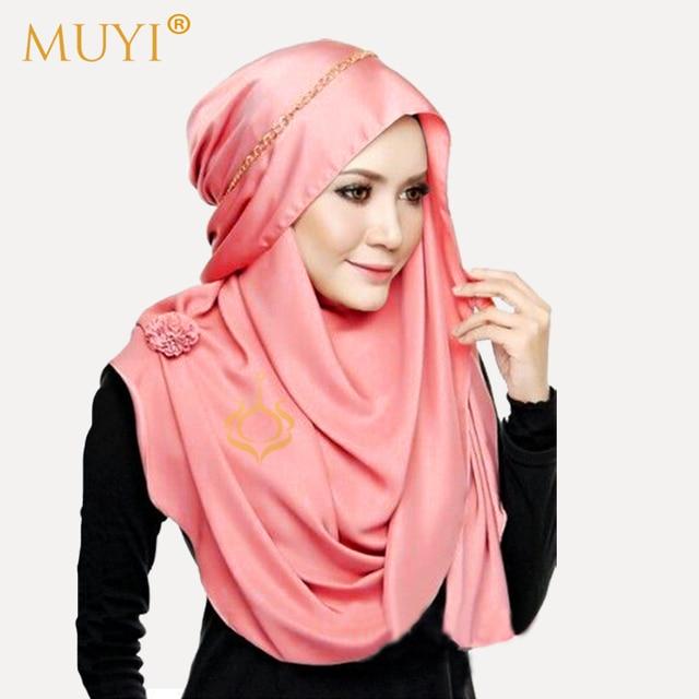 femmes turban hijabs musulman foulard islamique hijab de mode t te rev tements foulard femme de. Black Bedroom Furniture Sets. Home Design Ideas