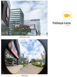 Image 5 - Pholes 6 in 1 Phone Lens iPhone Xs 용 케이스 커버 포함 Max XR 와이드 앵글 매크로 렌즈 Fisheys Zoom 카메라 HD 렌즈 for iPhone