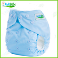 Alta Qualidade Pure Color Fraldas Fraldas Do Bebê 1 pc Com Microfibra Inserir fraldas de Pano Fraldas Reutilizáveis Lavável Ajustável Sólida B-série