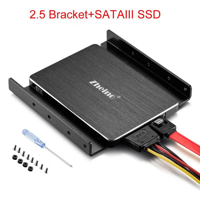 Zheino SATAIII SSD 120 gb 240 gb 360 gb 480 gb 960 gb 128 gb 256 gb 512 gb SSD en aluminium De Montage Adaptateur Support Pour Bureau