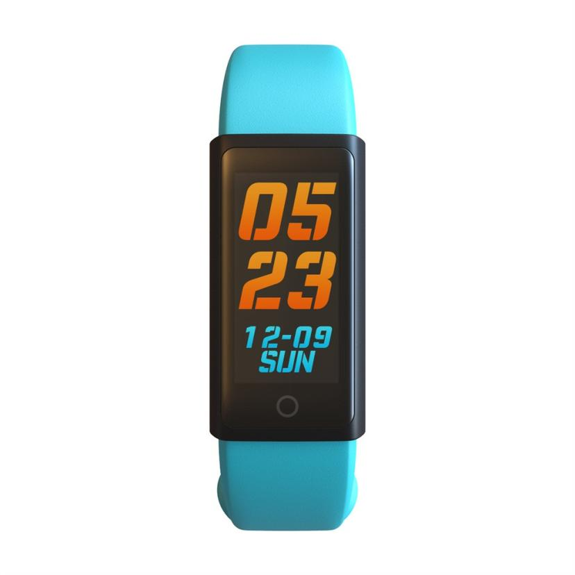 Professional Heart-rate Sleep Track Smart Wristband Watch with Colorful UI#831 f2 smart watch accurate heart rate