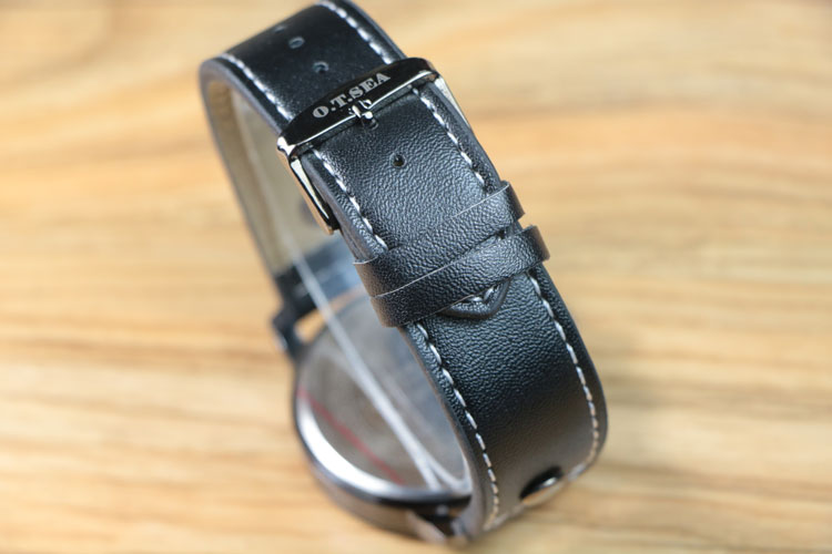 Watch Military Style with Leather Strap
