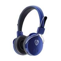 Blaue Farbe Drahtlose Bluetooth Gaming Headset 2,4G Hz HD Hohe Qualität Drahtlose Kopfhörer Für Handys MP3 MP4 Player # SS
