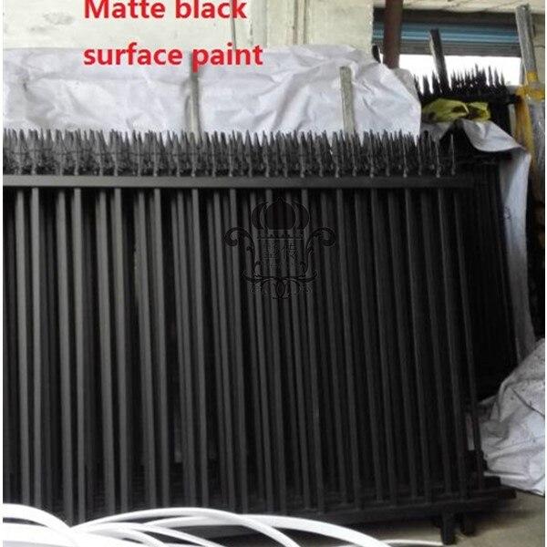 Hench Garden Fence 8 X5 Black Simple Style Ornamental