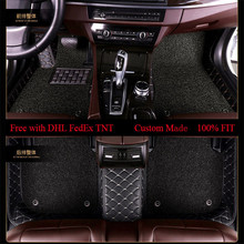 OLPAY Mat Leathe Doubler Car Floor Mats For Haval H1 H2 H3 H5 H6 H7 H8 H9  M2 M4 Car Accessories Custom Double Layer Foot Pad цена в Москве и Питере