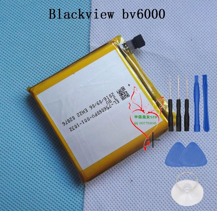 imágenes para Caliente BV6000 BLACKVIEW BV6000S Batería Del Teléfono Móvil 4200 mAh Batería Original Envío Libre con Número de seguimiento