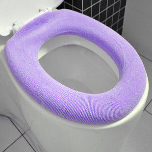 Toilet seats Color flocking toilet cover free shipping10pcs/set