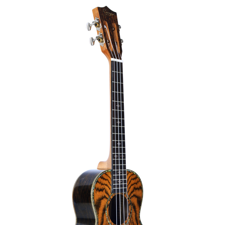 26 inch Caidie Wood Ukulele Rosewood Fingerboard High-gloss Hawaii Uklele With Belt/Tuner