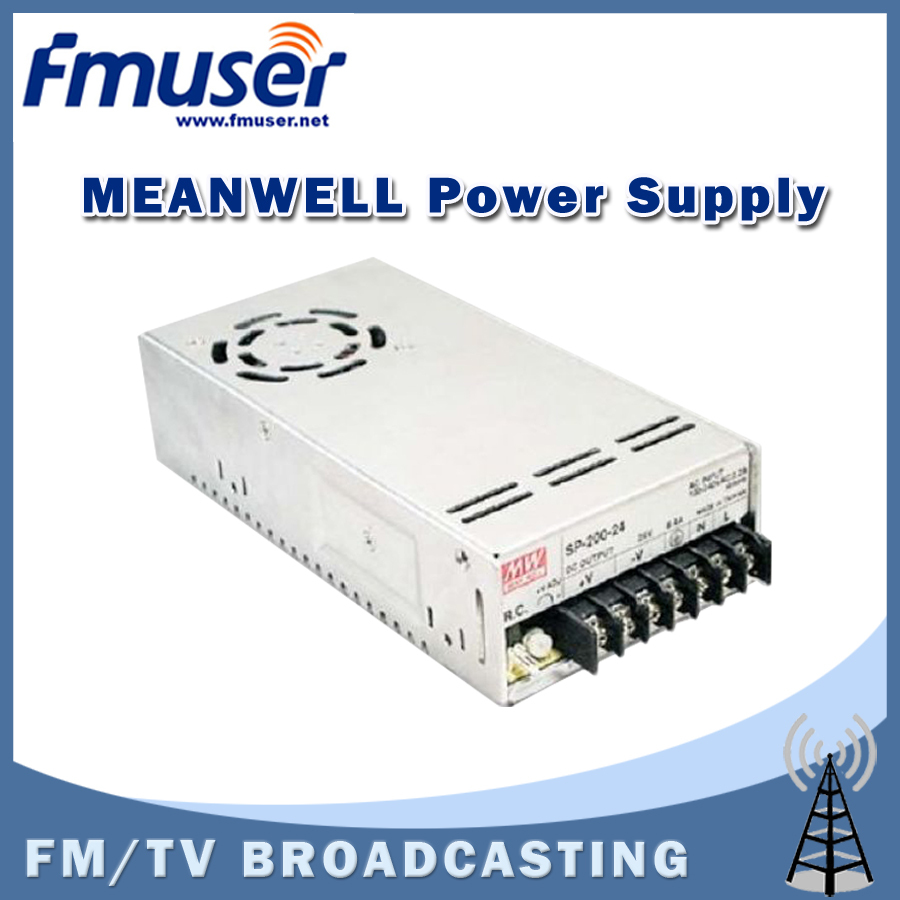 Free shipping  FMUSER Genuine MeanWell Switching Power supply SP-320-48 48V 6.7A for 150w FM transmitter free shipping fmuser fsn 150k 150w fm broadcast transmitter assemble pcb kit