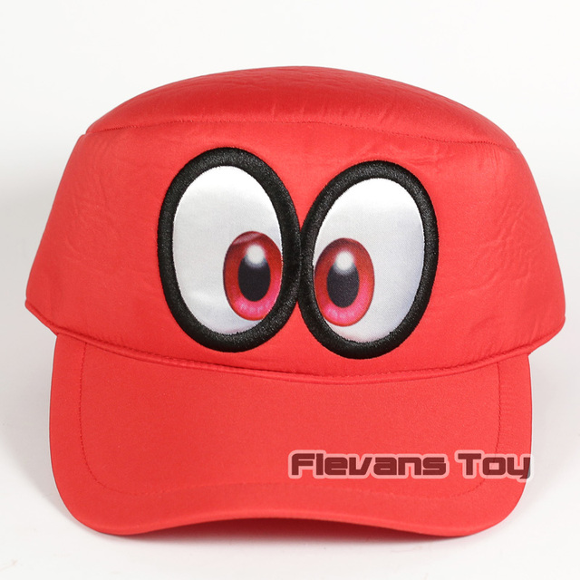 US $10 15 14% OFF|Super Mario Odyssey Cappy Cosplay Cap Hat for Men Women  Cartoon Fashion Casual Funny Caps Hats-in Men's Baseball Caps from Apparel