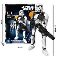 Star War Buildable Figure Kylo Ren Jango Boba Fett Clone Commander K-2so Poe Finn Building Block Toy Compatible With Legoings цена