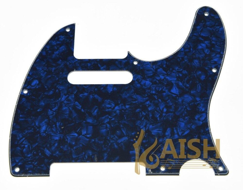 Blue Pearl Guitar Pick Guard Scratch Plate Fits TL Guitar