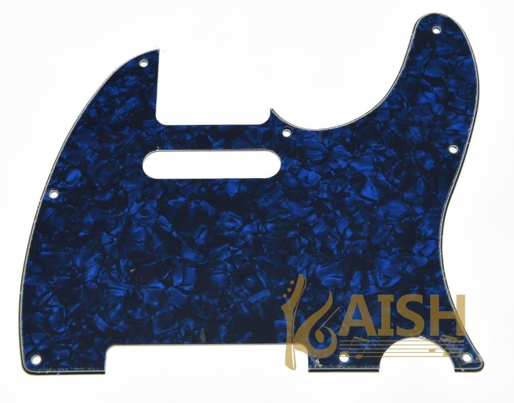 KAISH Blue Pearl Guitar Pick Guard Scratch Plate Fits TL Guitar