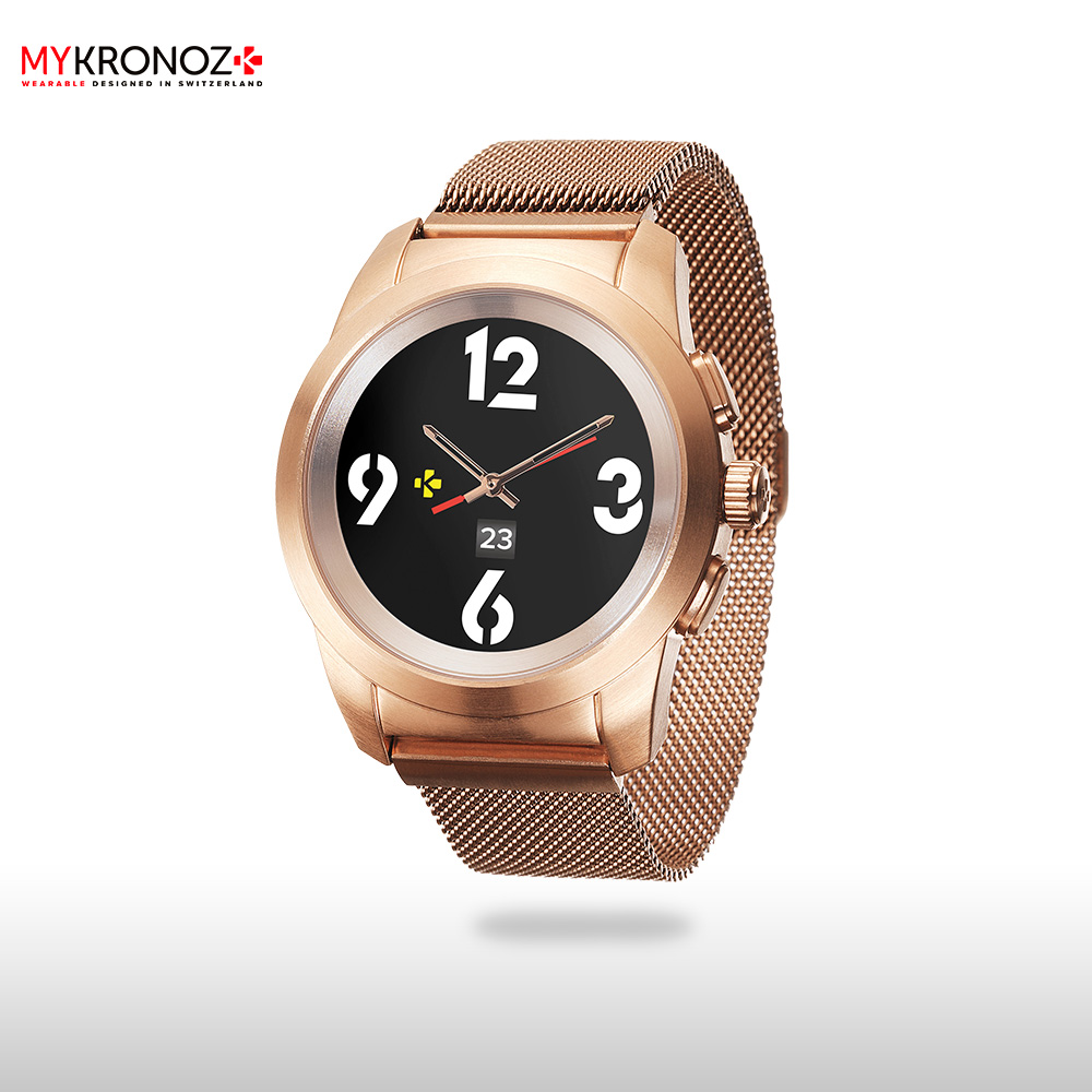 Smart Watches MyKronoz ZETIELRPG wearable devices wrist watch accessories top brand luxury rhinestone bracelet wrist watch women watches rose gold women s watches ladies watch clock saat bayan kol saati