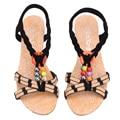 Sapatas das mulheres Sandálias de Cunha Conforto Sandálias Flip Flops Verão 2016 Sandálias Plataforma Gladiador Sandalias Mujer