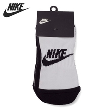 Original New Arrival 2017 Nike MENS 2PPK FUTURA NO SHOW Unisex Sports Socks ( two pairs)