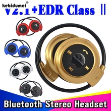 2015 New V4.0 Mini 503 Stereo Bluetooth Headset Wireless Headphones Neckband Style Earphone for iPhone Nokia Android Devices