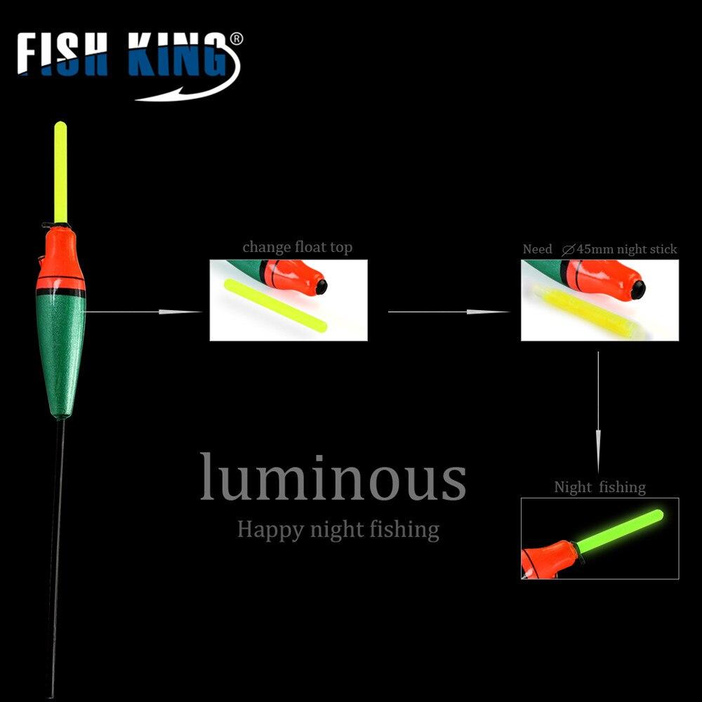FISHKING Visserijvlotter 5 Stks / partij 3g 4g 5g 6g 7g Lengte 19 - Visvangst - Foto 6