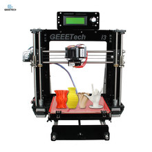Geeetech Acryl I3 Pro B Acryl Frame 3D Printer Ongemonteerd 3D Printer met 0.3mm Nozzle DIY Kit