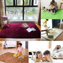 1 unids 200 x 300 cm moda 4.5 cm espesar alfombra de la sala Rug suave felpa larga alfombra de Yoga alfombra del piso estera para habitación de comedor esteras