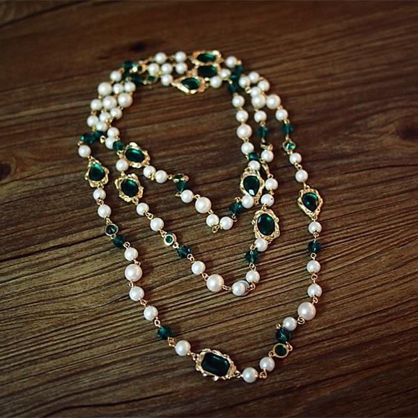 famous brand Zinc Alloy girls Europe statement necklace Baroque Retro court style Bordeaux green Girlfriend gift Women jewelry er 5302 women s fashionable leaf style zinc alloy earrings green pair