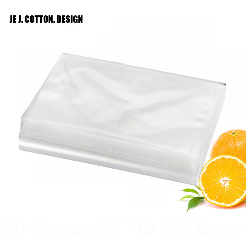 50 Pieces Vacuum Sealer Dots Veins Bags with Grooves to Tear 15*25cm 20*25cm 22*30cm 25*35cm 28*40cm Vacuum Packing Machine Bag 100 pieces lot 20 25 cm vacuum packer bags for food 20 25cm vacuum sealer packing machine bag with grooves easy to tear