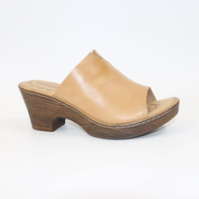 high quality first layer of cowhide flower high-heeled sandals leather us5-9