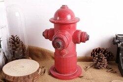 Retro resin handicraft furnishing articles Bar decorate restoring ancient ways A fire hydrant