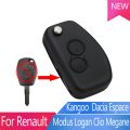Renault key 2 Button Brand New Modified Key Shell For Renault Flip Folding Remote Car Key