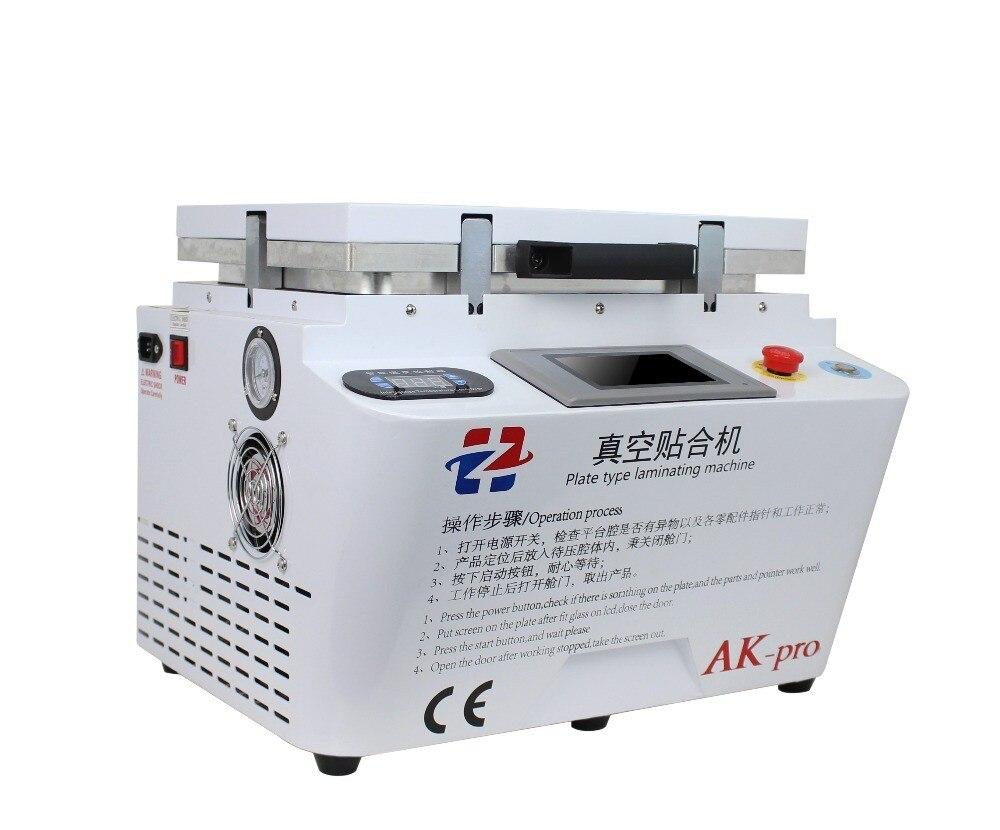 Machine à plastifier sous vide AK PRO oca machine à plastifier sous vide réparation lcd machine à plastifier oca pour iphone 7 s6 S8edge