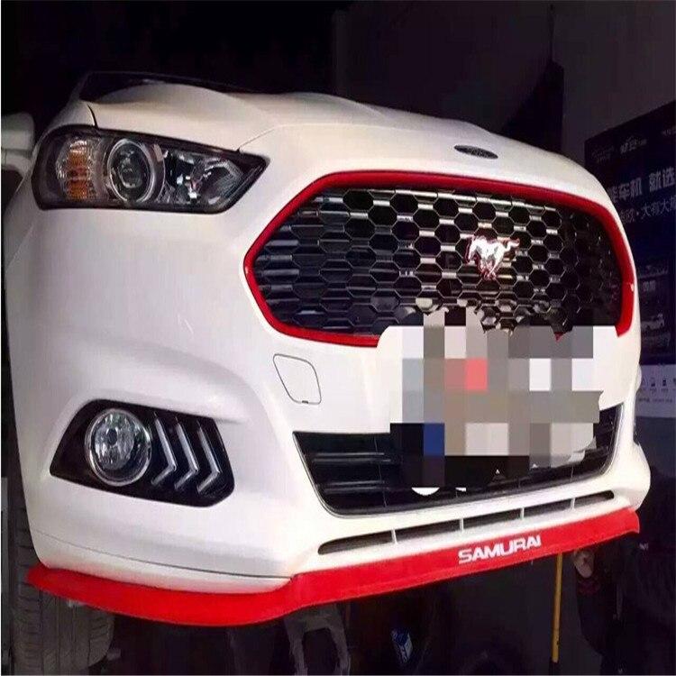2.5 Mt auto-styling front lip bumpeer rubber sticker. for Skoda YETI Superb Citigo Fabia Octavia CitiJet MissionL accessories