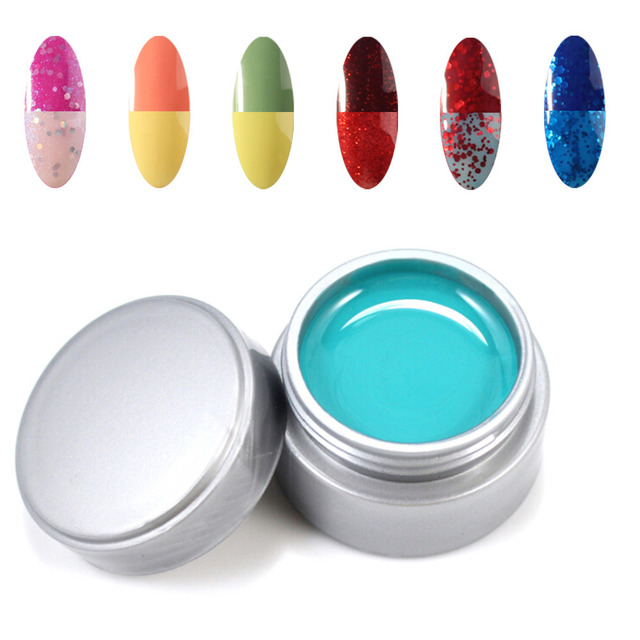 New Cheapest Chameleon Temperature Color changeing UV Gel Nail ...