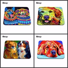 New Arrivals Customization Support Colorful Dog Art Computer Mousepad Gaming Padmouse Gamer To Laptop Mouse Pad As A Gift