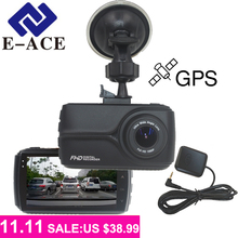 E-ACE 3.0 Inch Car Camera Full HD 1080p Car Dvr With GPS Tracker Recorders Automotive The Registrar Car Camcorder Vidio Recorder