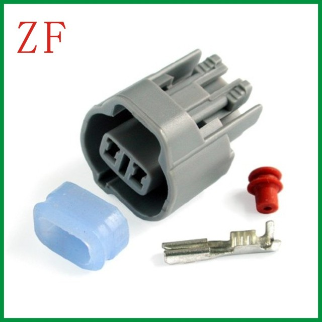 AMP TYCO Male connector terminal car wire connector 2 pin connector ...