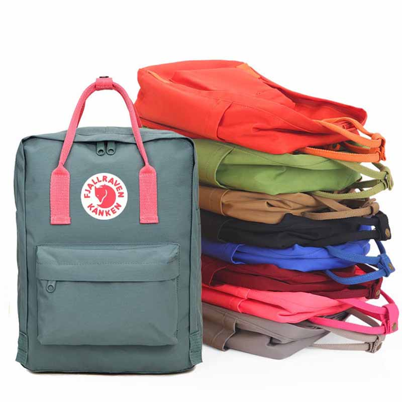 School Bags For Teenage Girls Bagpack School Backpacks mochila Kanken Backpack Student R ...