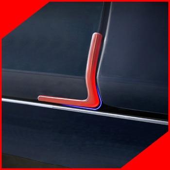 Door anti-collision piece wrap angle anti-collision anti-collision rubber door door protection piece For Tesla Model S фото