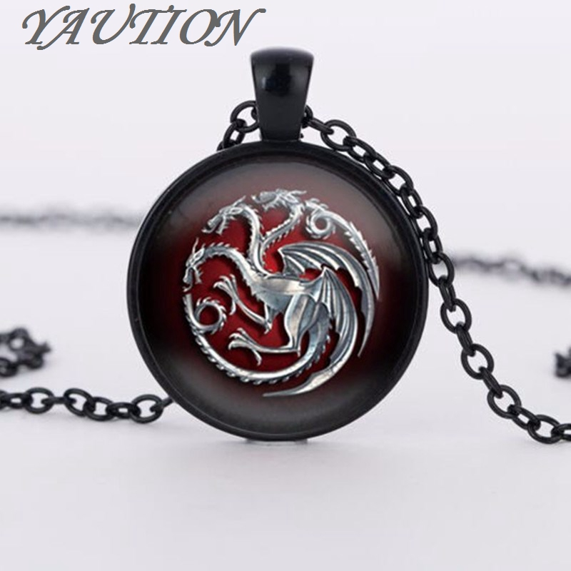 YAUTION pendant Game of Throne choker necklace jewelry