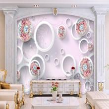 FATMAN 3D photo wallpaper luxuriant European pattern ruby flower. US  11.78    Square Meter Free Shipping 4b13790be27d