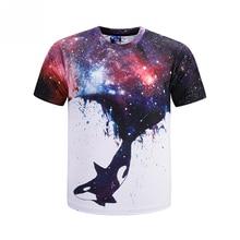 Mr.1991 brand New arrive summer style whale galaxy star printed children's t-shirt Unisex Kids tshirt roupas infantis menina T6b