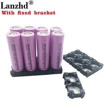 1-8PCS 18650 Batteries 3.7V Li ion 3300mAh 30A 18650VTC7 18650 battery and fixed bracket 18650 Holder with Splicing Bracket