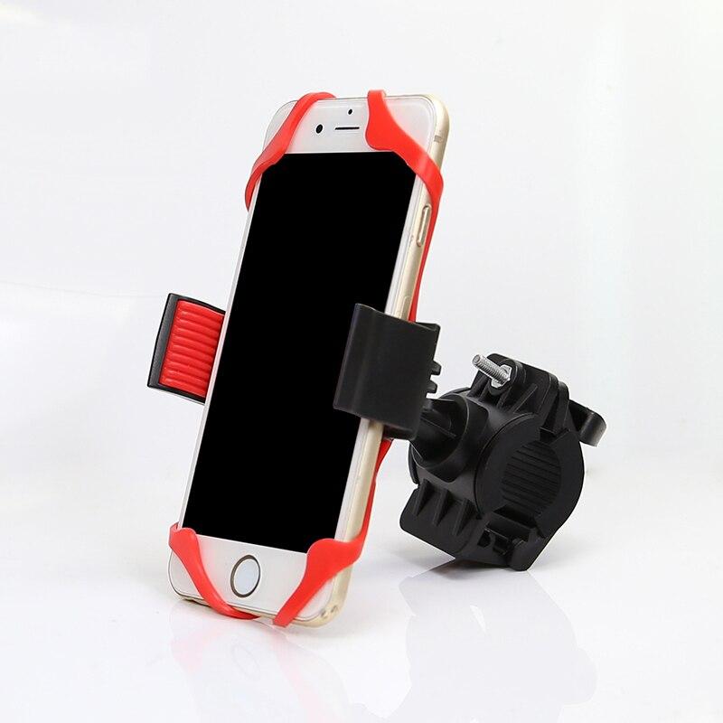 Bicicleta manillar de la motocicleta soporte para teléfono soporte de montaje co