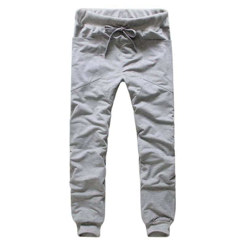 2017 Harem Pants Unique Pocket Mens Joggers Cargo Men Pants Sweatpants Men Jogger Pants Male Pantalones Hombre