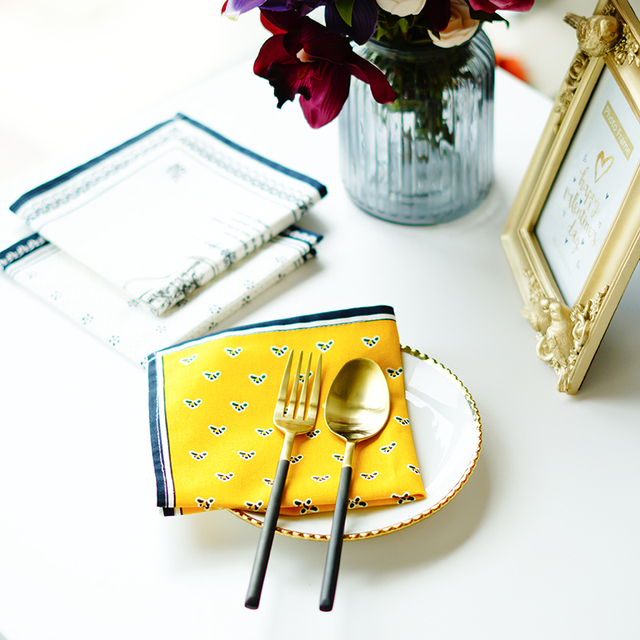 Cotton Linen Tableware Dining Table Mat Non-Slip Luxury Europe Pattern Placemats Dish Pads Bowl  sc 1 st  AliExpress.com & Cotton Linen Tableware Dining Table Mat Non Slip Luxury Europe ...