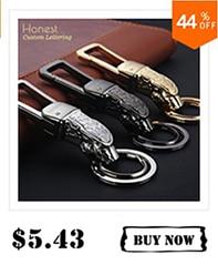 High-Grade Hand Woven Leather Car KeyChain 360 Degree Rotating Horseshoe Buckle Jewelry Key Rings Holder Genuine Bag Pendant