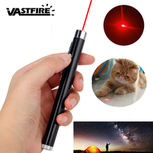 200m 1mW Red 650nm Hunting Laser Pen Black/Silver Strong Visible Light Beam point Powerful Military Point